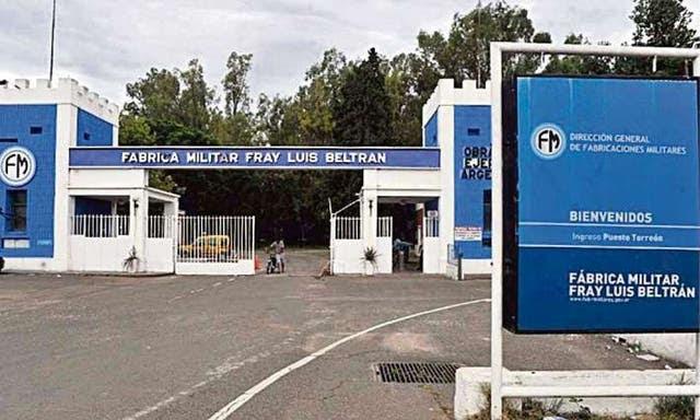 """La fábrica militar Fray Luis Beltrán está en Santa Fe y es la única categorizada como una unidad de """"defensa y seguridad"""""""