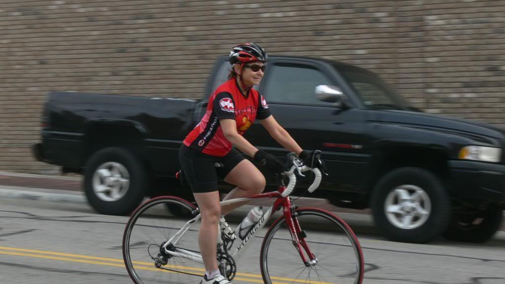 Racer on Phillips Street