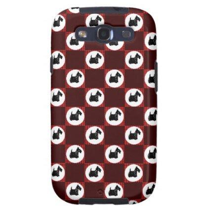 Cute Scottie Dogs Samsung Galaxy SIII Case