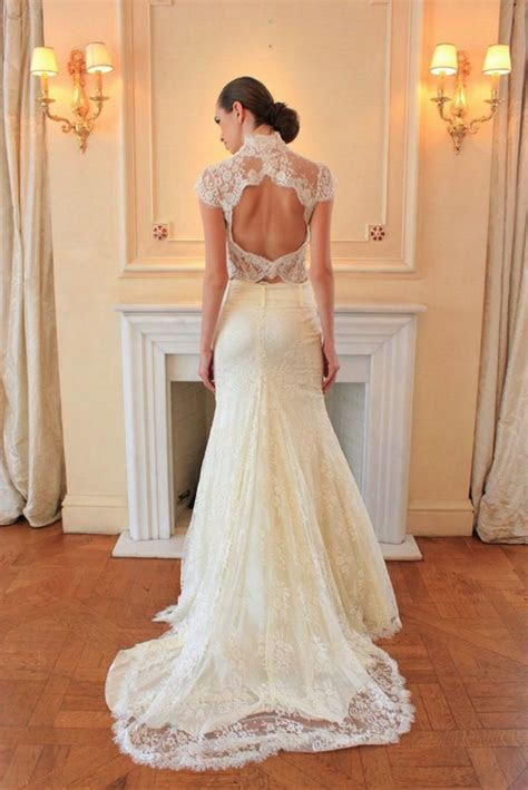 Best of Backless Wedding Gowns: 25 Dresses to Adore   OneWed