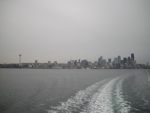 View from the ferry - downtown Seattle 33/365