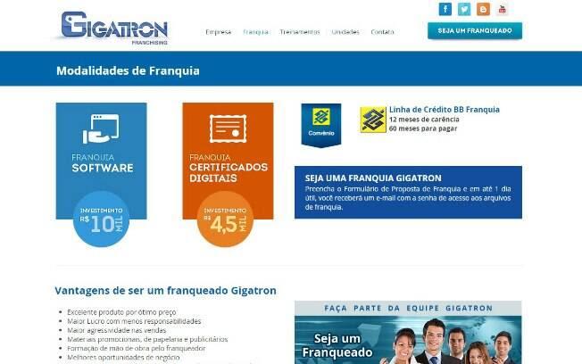 A Gigatron aposta na venda e implementação de softwares de gestão empresarial para o varejo e prestadores de serviço - Valor de investimento: R$ 10 mil. Foto: Divulgação