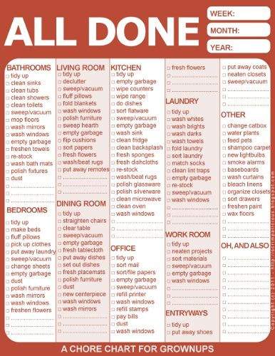 1000+ images about chore chart on Pinterest | Cleaning charts ...