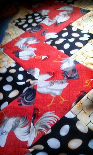 Chicken Table Runner