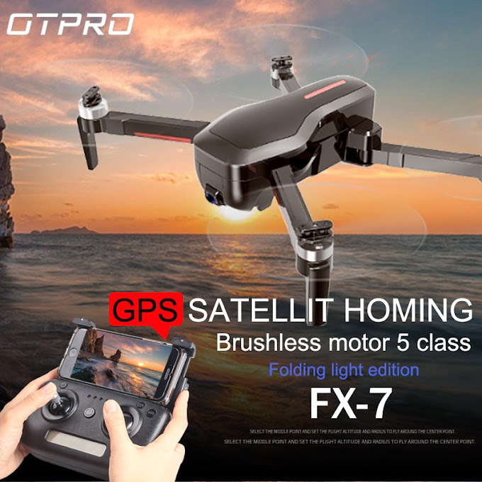 OTPRO CX7 Youpin iDol FPV RC Drone GPS Foldable Drone Camera HD 1080P AI Gesture Control Follow Mode Optical Flow Quadcopter