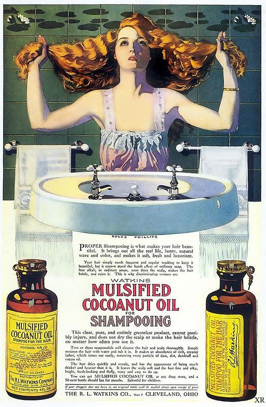 ... shampoo sacrafice!
