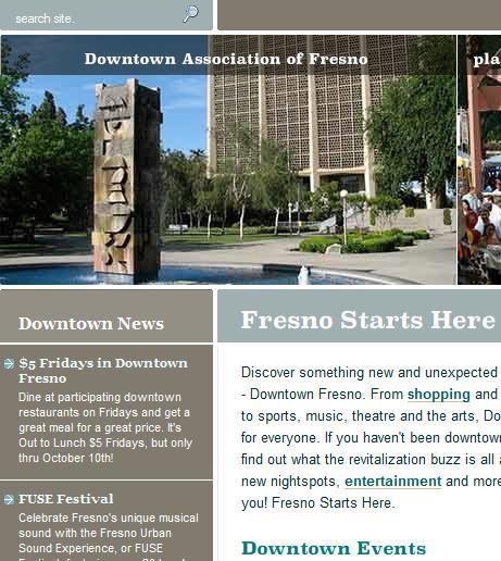 Downtown Assoc website