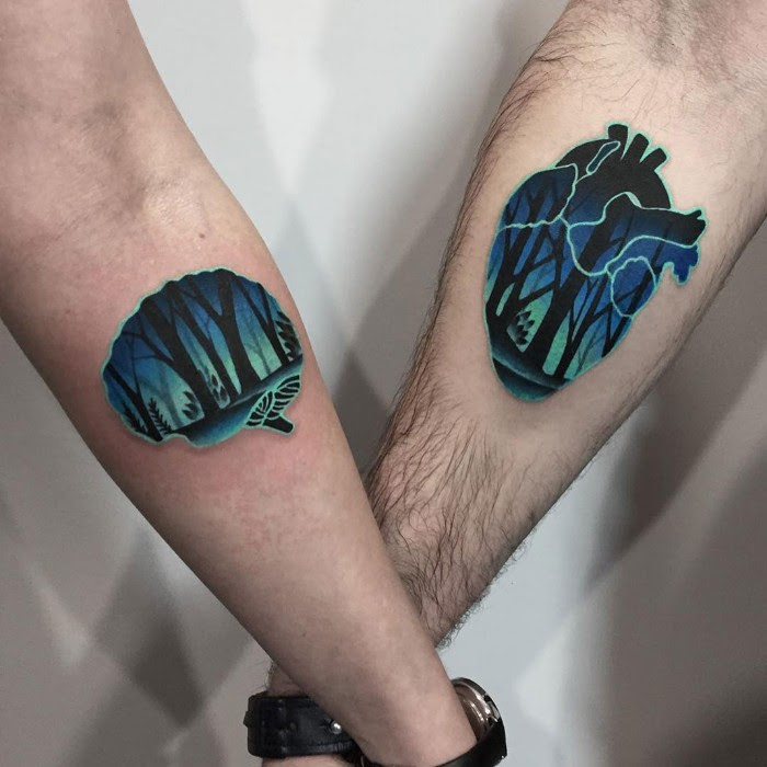 Inked Together – 80 Charming Matching Tattoos for Couples ...