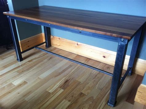 Hand Crafted Writing Desk/Table by Desiron Custom Metal