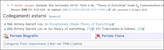 http://it.wikipedia.org/wiki/Antony_Garrett_Lisi