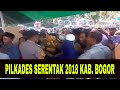 Pilkades Serentak 2018 Kabupaten Bogor Berjalan Aman dan Damai