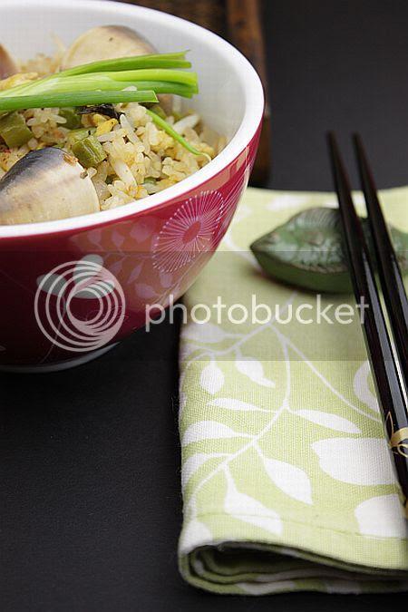 Basil fried rice 1