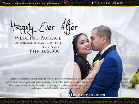 Wedding Package at South   Wedding Package Philippines