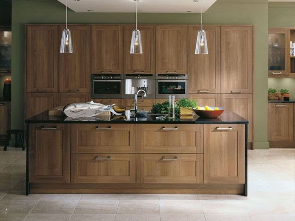 The value of the walnut kitchen cabinets | Kitchens ...