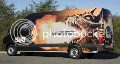 Crazy Dragon Fire Van