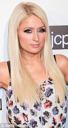 Paris Hilton é uma celebridade que pode ser fortemente identificado com Marilyn