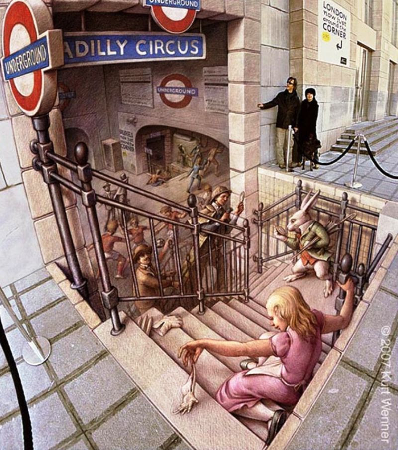 kwe4R The Incredible World Of 3D Street Art