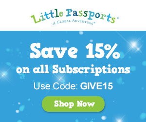 The Little Passports subscription box would be a great gift for the holidays!