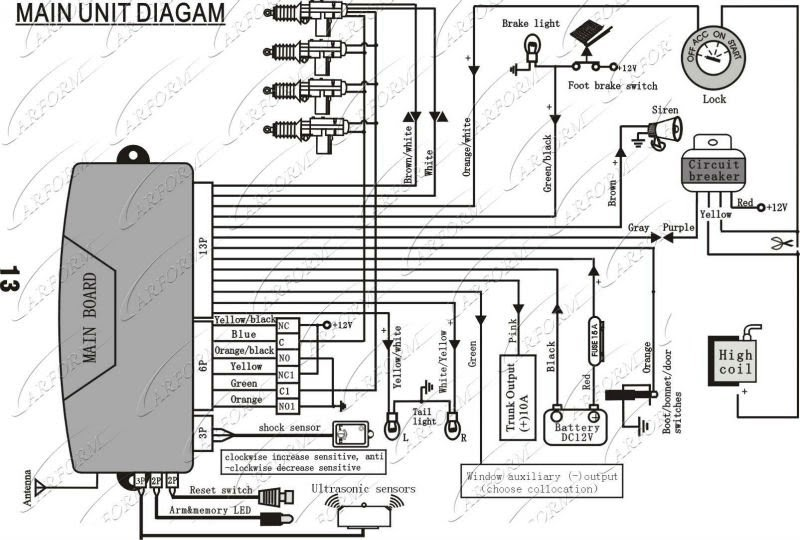 15  Universal Remote Central Locking Wiring Diagram