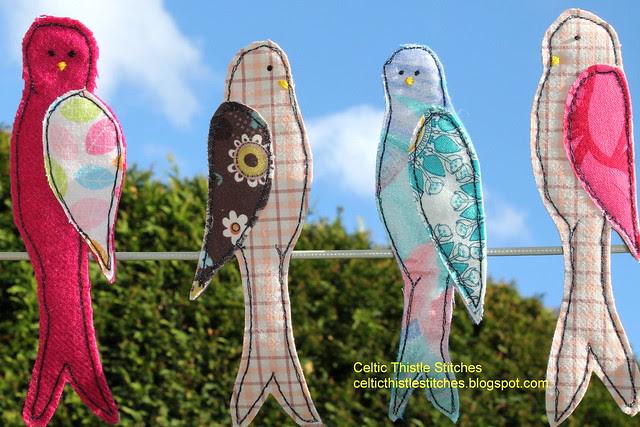 Peg birds
