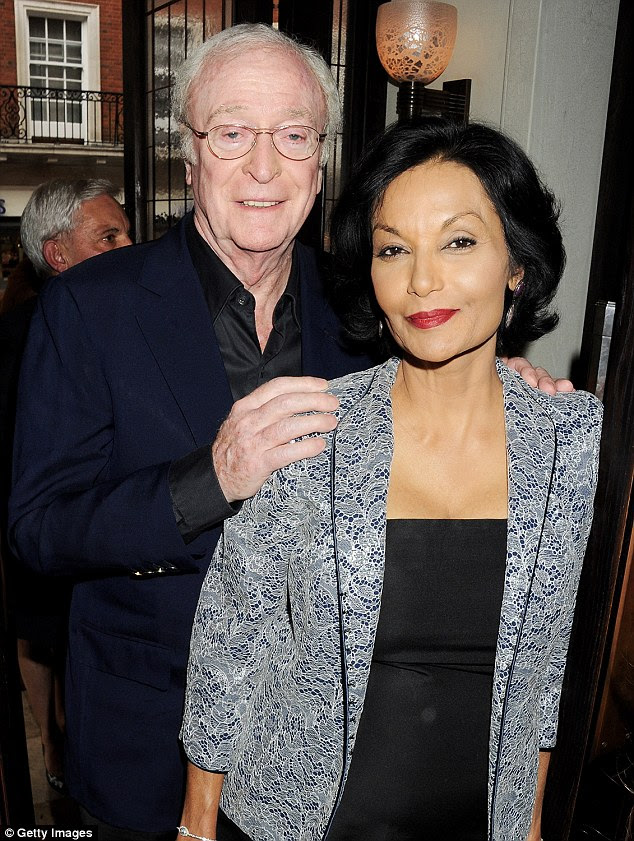 Still going strong: Sir Michael has been married toGuyanese actress Shakira Caine since 1973