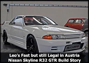 Austrian Skyline R32 GTR Build Story Fast but still Legal