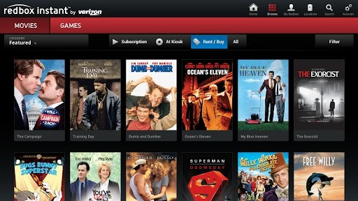 Redbox Instant app available for Google TV