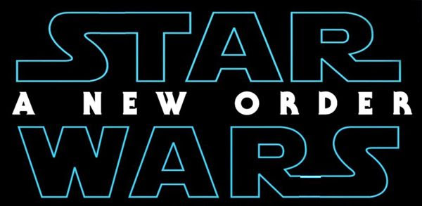 A fan-made logo for STAR WARS: A NEW ORDER.