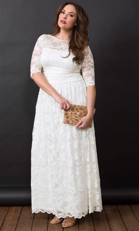 18 Romantic and Eye catching Plus Size Wedding Dresses