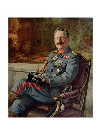Portrait of Kaiser Wilhelm II
