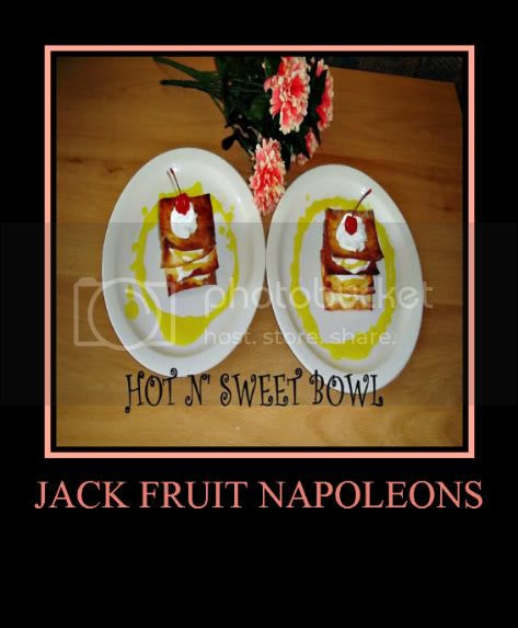Jackfruit Napoleons