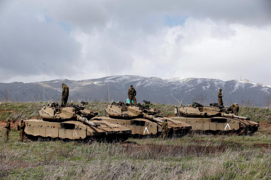 מדינת ישראל באזארגט איבער סירישע פייער אפשטעל