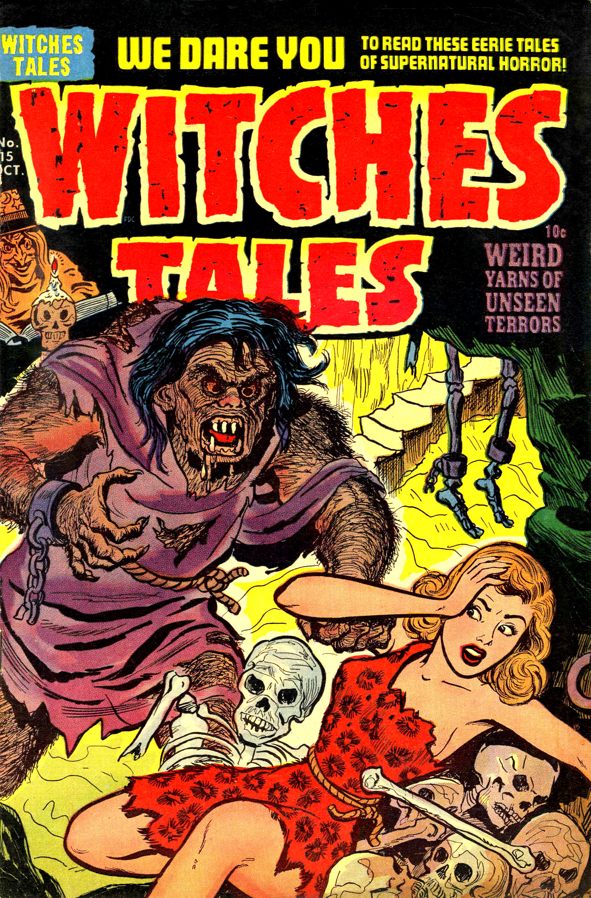 Witches Tales #15, Rudy Palais Cover