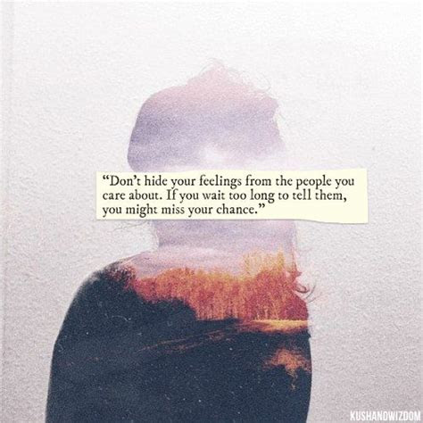 Hiding Your Feelings Tumblr Quotes