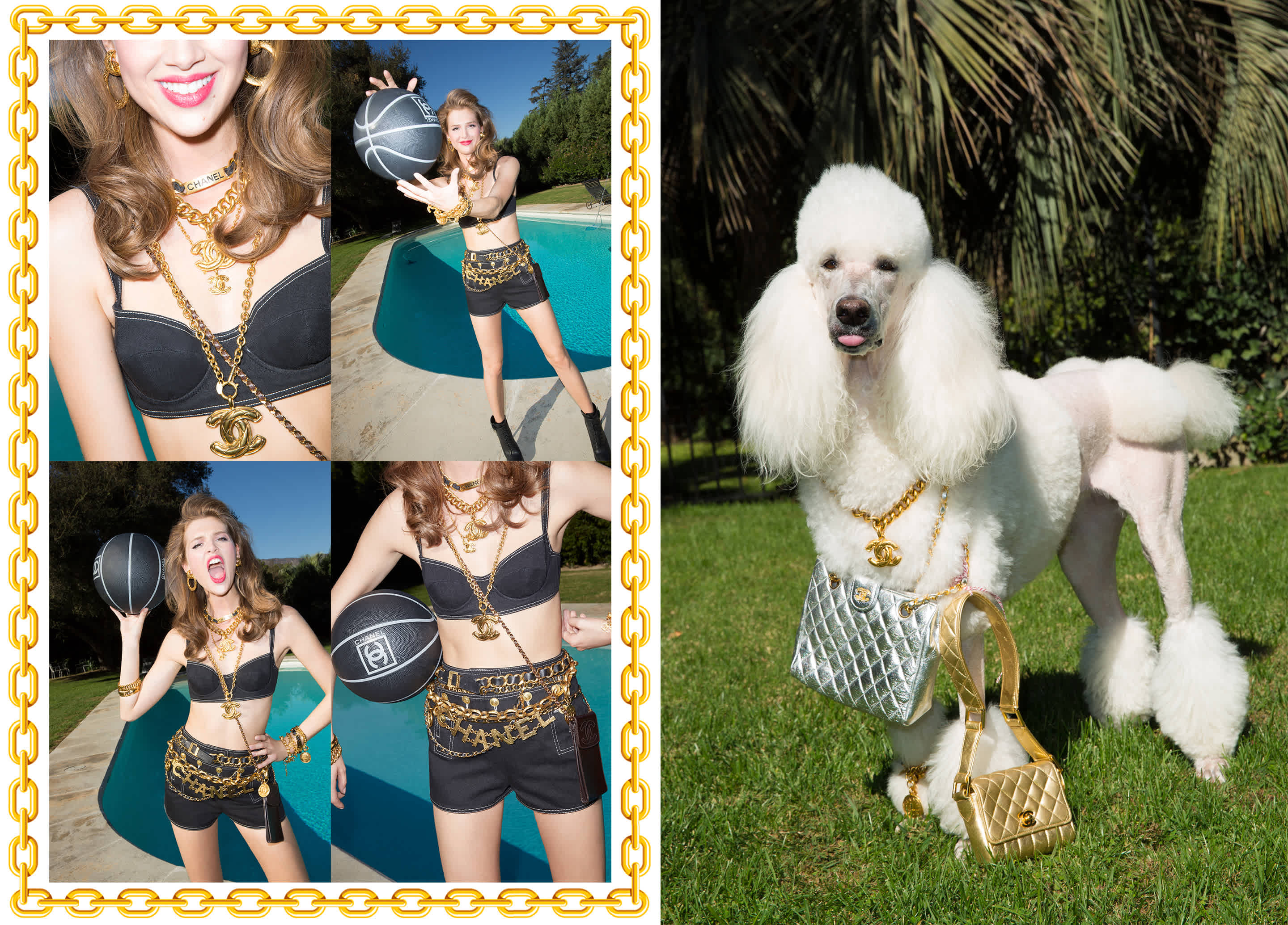 Currently Inspired by: Nasty Gal's Vintage Chanel Lookbook