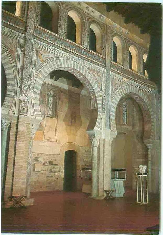Iglesia de San Román tras la restauración de 1967-70