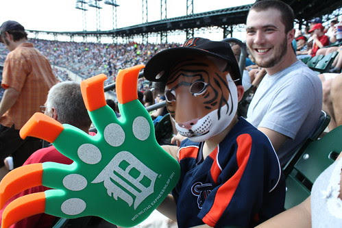 Liams first tigers game 078