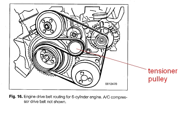 33 2000 Bmw 323i Serpentine Belt Diagram