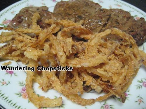 Fried Onion Strings 1