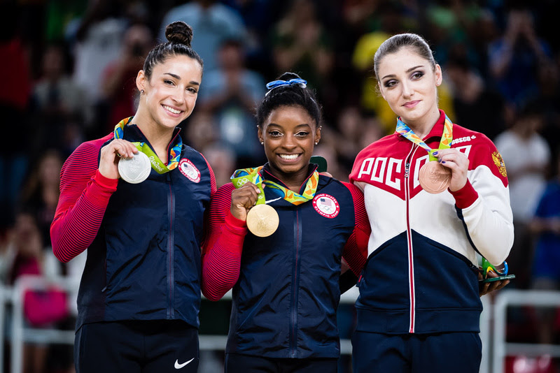 USA Gymnastics: Aug. 11 - Women's All-Around Final &emdash; 2016 Olympic all-around medalists