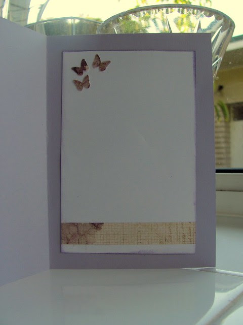 Inside of the card decorated (CCCB#92)