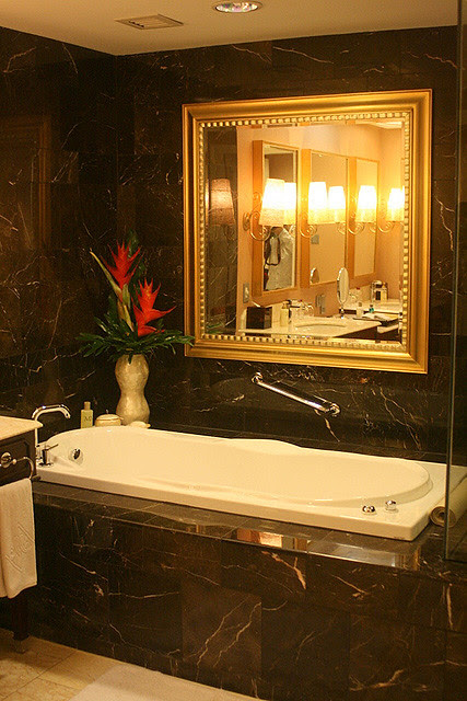 Bathroom of one of the suites