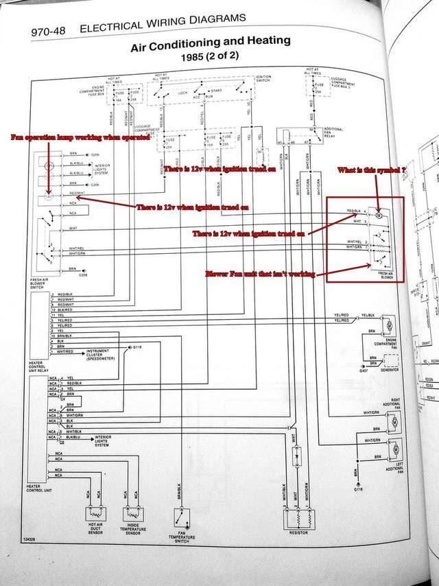 Heater Motor Wiring Diagram