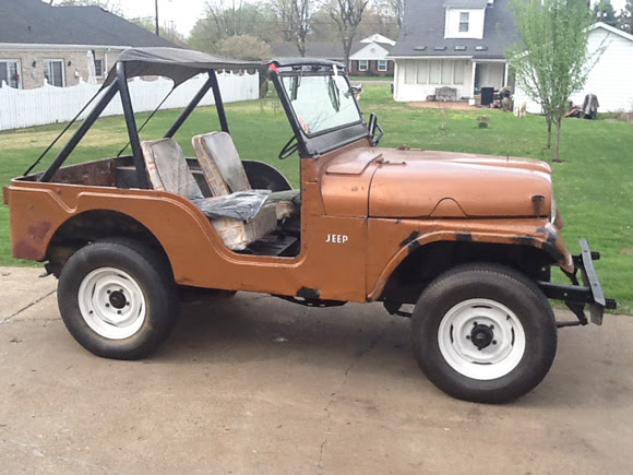 Greg Combs' 1958 Willys CJ-5