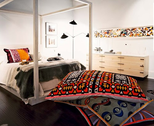 1 - Oversized Floor Pillows from Lonnymag JulyAug11, Interior Design Ideas and Inspiration