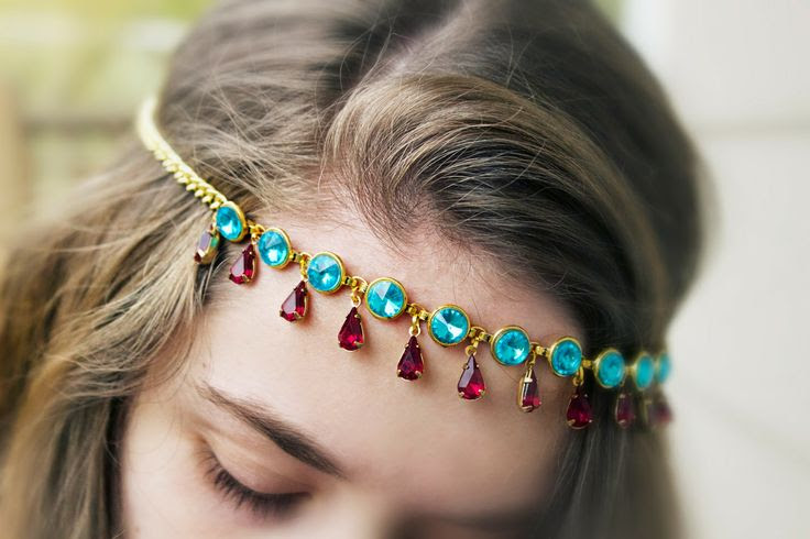 Quiet Lion Creations by Allison Beth Cooling: Gypsy Gems Headband