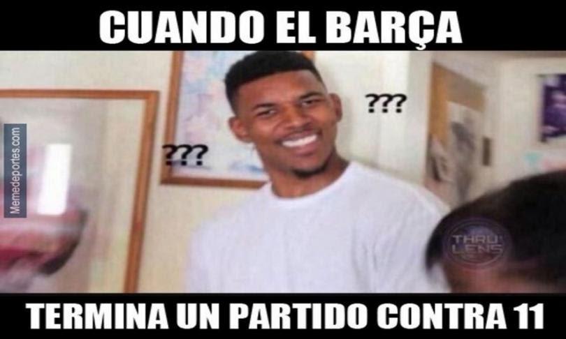 Meme Barcelona vs. Atlético de Madrid