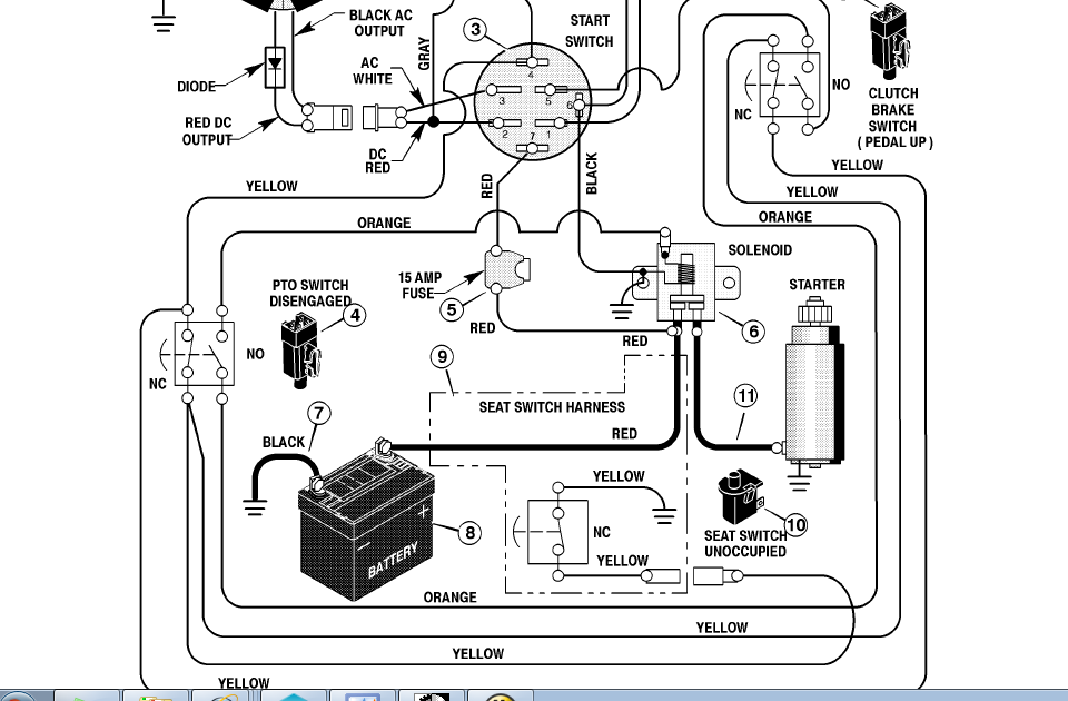 Cub Cadet Pto Switch Wiring Diagram - Wiring Site Resource