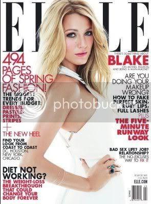 Blake Lively Elle March 2012