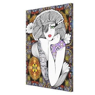 Pagan Diva Gallery Wrap Canvas